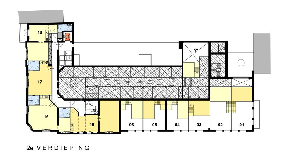 VDLP Architecten - Herbestemming postkantoor Stadspoort